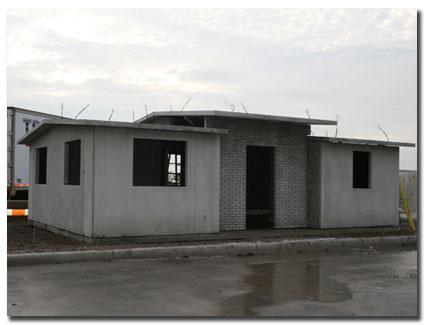 Concrete fence panel precast fencing for Precast concrete home
